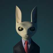 business cat avatar