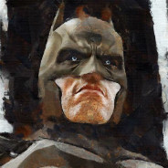 batman water painting