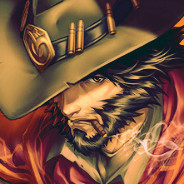 It's high noon (mc cree overwatch)