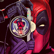 deadpool holding camera