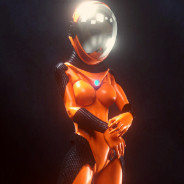 space suit woman