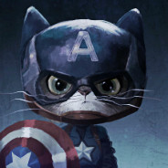 cat captain america