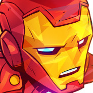 drawn iron man